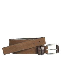 Johnston & Murphy - Wrapped Double-Loop Belt