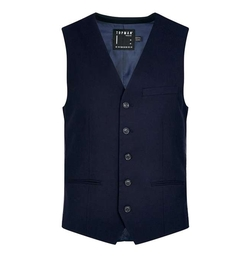 Topman - Textured Ultra Skinny Fit Vest