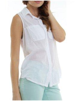 Michael Stars - Sleeveless Button Down Shirt