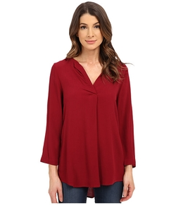 Bobeau - V-Neck Blouse