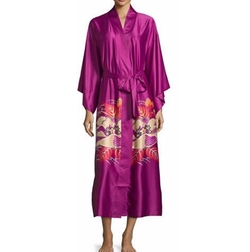 Natori - Imperial Floral-Print Wrap Robe