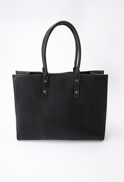 Forever21 - Faux Leather Tote Bag