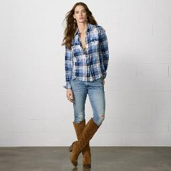 Ralph Lauren - Tacoma Plaid Cowgirl Shirt