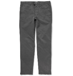 Officine Generale - Regular-Fit Cotton-Twill Chino Pants
