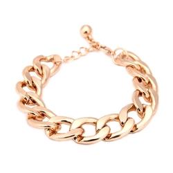 NewXiloo  - Chunky Curb Chain Bracelet