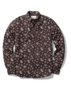 Ralph Lauren - Floral Cotton Poplin Shirt