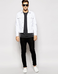 Jack & Jones - White Denim Jacket