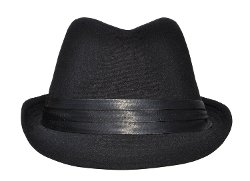 Simplicity - Manhattan Structured Gangster Trilby Fedora Hat