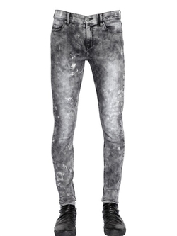 Cheap Monday - Washed Stretch Denim Jeans