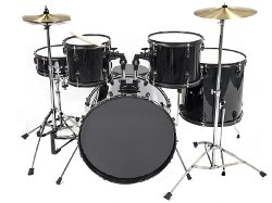 Goplus  - 5 Pc Drum Set