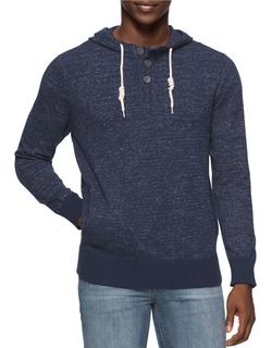 Calvin Klein Jeans - Henley Hoodie Sweater