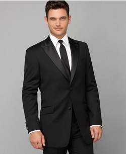 Tommy Hilfiger - Peak-Lapel Trim-Fit Tuxedo Jacket