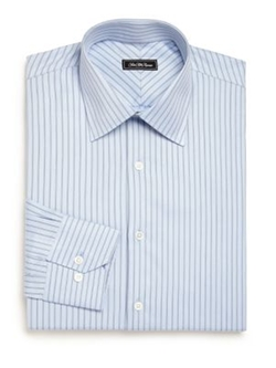 Saks Fifth Avenue Collection - Striped Dress Shirt
