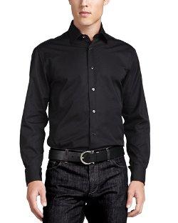Salvatore Ferragamo - Woven Tonal Sport Shirt