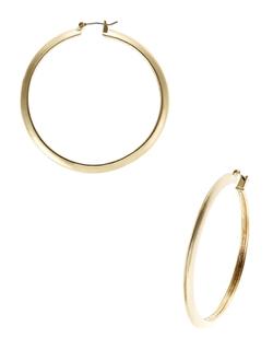 Kensie - Metal Hoop Earrings