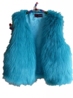 WIIPU - Faux Fur Short Vest