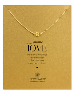 Dogeared  - Dipped Infinite Love Pendant Necklace