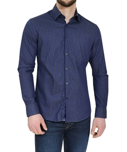Stone Rose - Striped Button Down Shirt