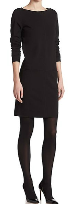 Ralph Lauren Black Label - Adrienne Long-Sleeve Dress