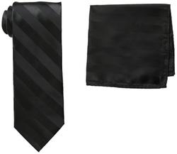 Stacy Adams - Solid Woven Formal Stripe Tie