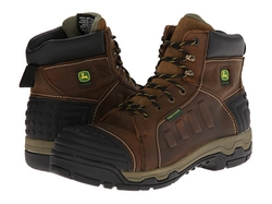 John Deere  - Waterproof Lace-Up Aluminum Alloy Toe Boots