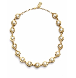Karine Sultan - Faux Pearl Collar Necklace