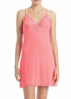 Natori  - Feathers Stretch Jersey Chemise