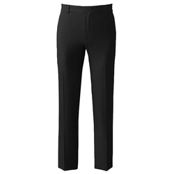 Axist  - Slim-Fit Herringbone Flat-Front Dress Pants