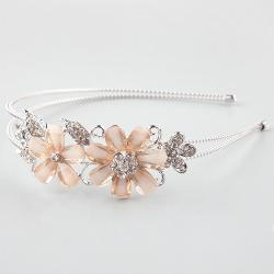 Full Tilt  - Glitter Floral Wire Headband