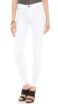 AG Adriano Goldschmied  - The Farrah High Rise Skinny Jeans