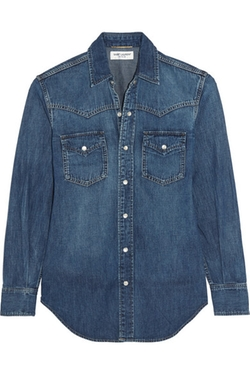 Saint Laurent  - Classic Denim Shirt