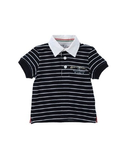 Marina Militare - Stripe Polo Shirt