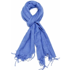 Violet Del Mar - Solid Colored Scarf