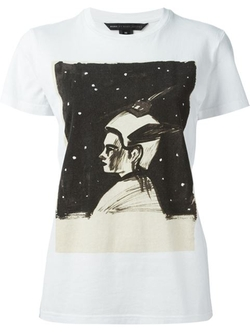 Marc By Marc Jacobs - Painterly Print T-Shirt