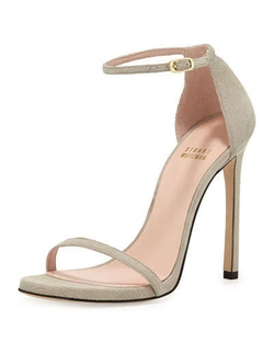Stuart Weitzman - Nudist Ankle-Strap Sandals