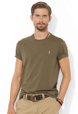 Polo Ralph Lauren  - Custom-Fit Cotton Jersey T-Shirt