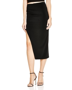 Alice And Olivia - Ann Asymmetric Midi Skirt