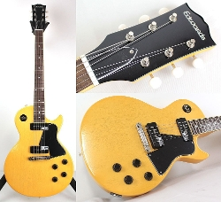 Edwards - TV Yellow Electric Guitar