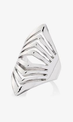 Express - Cut-Out Chevron Ring
