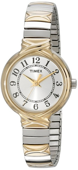 "Timex - ""Elevated Classics"" Two-Tone Expansion Band Watch"