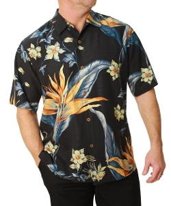 Tommy Bahama - Short Sleeve Hawaiian Print Shirt