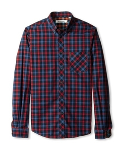 Ben Sherman - Gingham Plaid Button-Down Shirt
