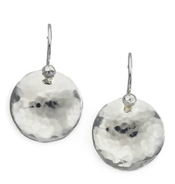 Ippolita - Sterling Silver Dome Disc Drop Earrings