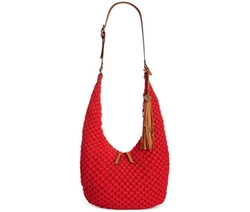 Lucky Brand  - Tessa Macrame Sling Medium Hobo Bag