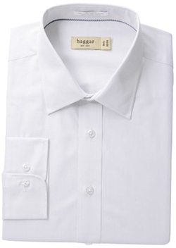 Haggar  - Poplin Solid Dress Shirt