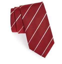 Boss - Stripe Silk Tie