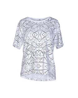 Selected Femme - Printed T-Shirt