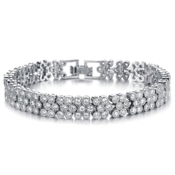 Girl Era - Round Tennis Bracelet