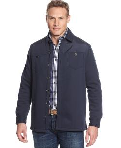Tasso Elba  - Solid Button-Front Jacket