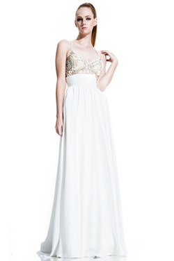 Johnathan Kayne - Crystal Adorned Bodice Gown